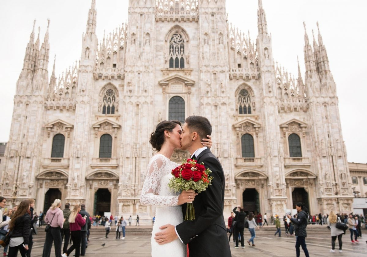 Milan wedding